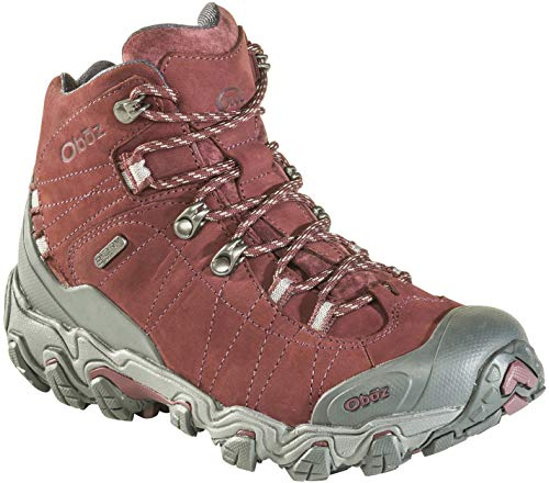 Oboz Bridger Mid B-Dry Hiking Boot - Women's Mahogany 7.5