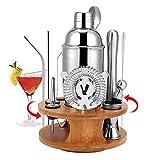 HALOVIE Set Shaker à Cocktail 14 Pièces en Acier Inoxydable 750 ML Kit...