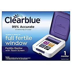Image: Clearblue Fertility Monitor | Touch Screen | Helps You Get Pregnant Faster | accurately tracks two key fertility hormones to typically identify up to 6 fertile days
