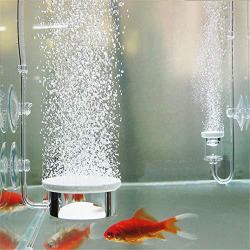 MASUNN Aquarium Bubble Air Stone Pomp Hydroponics Diffuser Fish Tank Vijver Aerator Disk