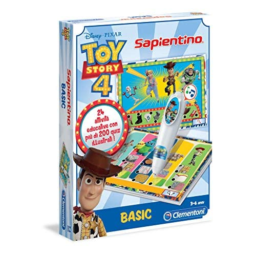 Clementoni- Disney Toy Story 4 Sapientino Penna Basic, Multicolore, 16191