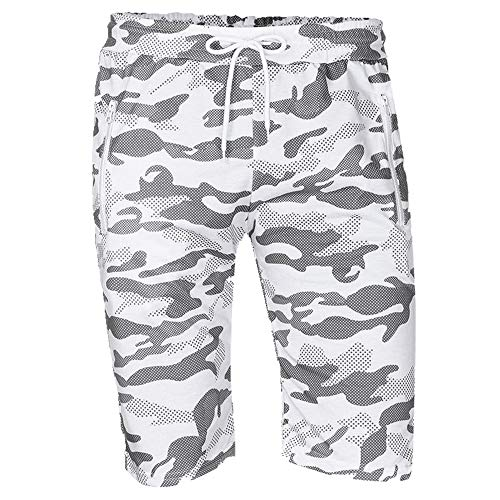 N\P Hombres Pantalones Cortos De Camuflaje Casual Masculino Venta Militar De Carga Cortos De Longitud De La Rodilla De Los