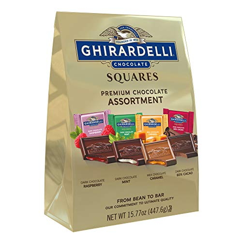 Ghirardelli Assorted Squares XL Bag, 15.77 Ounce by Ghirardelli Chocolate Company