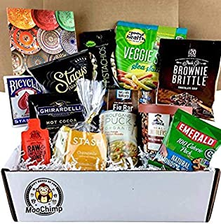 Get Well Gifts for Women, Men. Gourmet Get Well Soon Basket of Tea, Soup, Snacks, Puzzle & More. Send this Prime Get Well Kit, Care Package for Illness, Cold, Flu, Surgery, Recovery. (Bundle of 18)