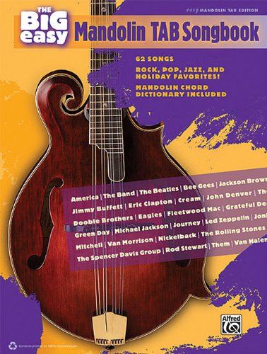 The Big Easy Mandolin Tab Songbook: The Big Easy Songbook Series
