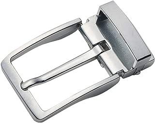 Lovoski Mens Metal Reversible Belt Buckle Replacement Antique Pin Buckle Rectangular