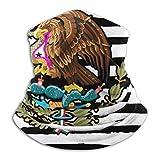 Halswärmer Amerikanische Flagge Mexiko Männer Frauen Winddicht 26X30Cm Arbeit Gesichtsbedeckung Kopfbedeckung Halswärmer Kaltes Wetter Motorrad Angeln Hals Gamasche Schule