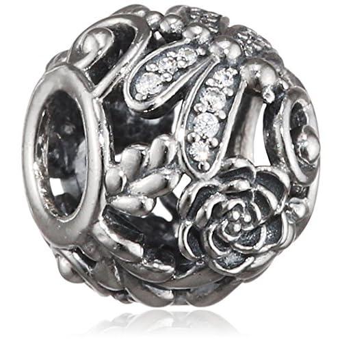 Pandora Donne Bead Brillante Libellula 925 Zirconia Trasparente - 791733CZ