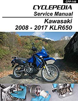 Amazon Com 2008 2012 Kawasaki Klr650 Service Manual Ebook Cyclepedia Press Llc Kindle Store