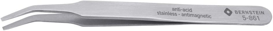 Bernstein Werkzeuge Direct stock discount 5-861 SMD Tweezers Shape Stainless Spasm price 120 mm FB