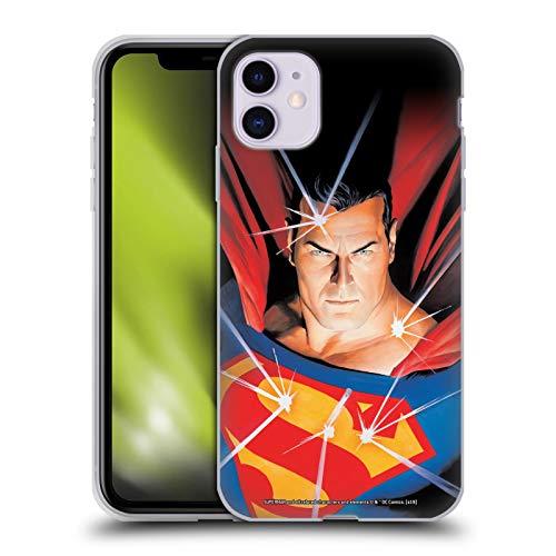 Head Case Designs Licenciado Oficialmente Superman DC Comics Mitología Fundas de cómics Famosas Carcasa de Gel de Silicona Compatible con Apple iPhone 11