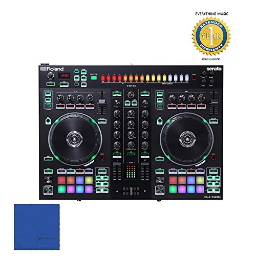 Why Choose Roland DJ-505 2-Channel 4-Deck Serato DJ Controller with Microfiber and Free EverythingMu...