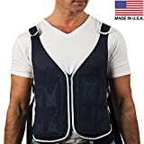 New Home Innovations Cooling Vest Proudly Made in USA with 4 x Body Ice Packs | #1 Phase Change Vest for MS - Sport -...