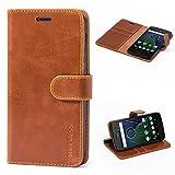 Mulbess Flip Moto G5 Plus Case, Moto G5 Plus Leather Case,