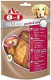 8in1 Fillets Pro Skin & Coat Hähnchensnack, funktionale Leckerlies für Hunde, 1er Packs (1 x 80 g)