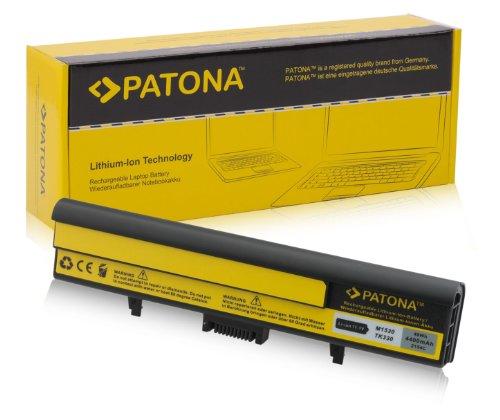 PATONA Batería para Laptop/Notebook DELL XPS M1530 - [ Li-Ion; 4400mAh; Negro...