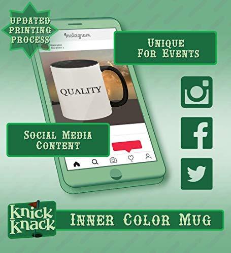 got debit? - 11oz Ceramic Colored Handle and Inside Coffee Mug Cup, Black