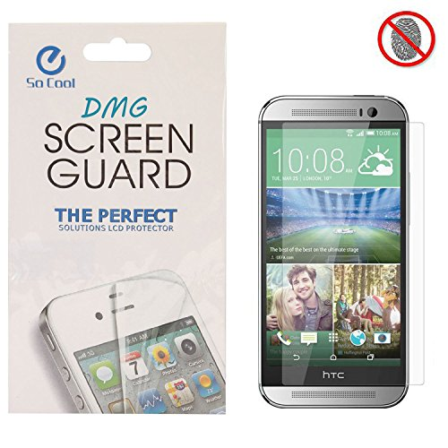 DMG SoCool Screen Protector for HTC One E9 Plus (Pack of 2 Matte Anti Glare Anti Fingerprint Scratch Guard)