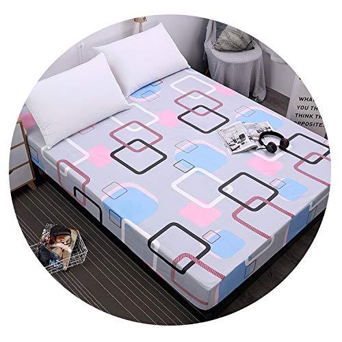 New printing mattress cover waterproof bed Mattress protector sheet separate bedding,F-CYG,180X200X30cm
