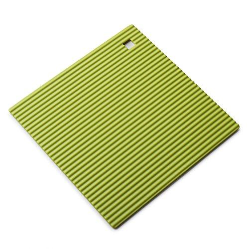Zeal Dessous de Plat en Silicone antidérapant et résistant à la Chaleur 18 cm, Silicone, Vert Citron, 7-inch