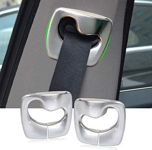 , para BMW 5 Series F10 2011-2017 Decoración Interior del Coche Asiento Cinturón de Seguridad Ajuste de la Cubierta Car Styling-Silver TTMMMKP