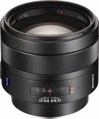 Sony 85mm f1.4 Carl Zeiss Planar T Coated Telephoto Lens