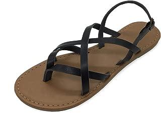 Best black strappy sandals Reviews