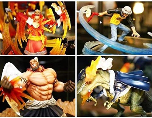One Piece - Super Effect Figure Vol. 1 (Set of 4) (japan import)