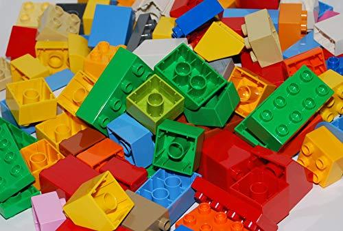 LEGO® Duplo® Bausteine 110 Stück bunt gemischt - Achter, Sechser, Vierer, Zweier und Andere !