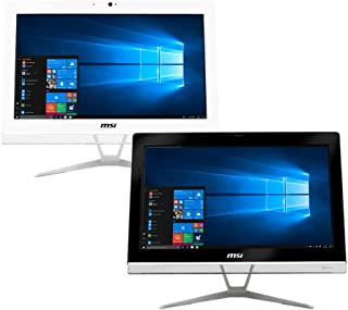 MSI PRO 20EXTS 8GL-053XEU All-in-One PC, Intel Celeron N4000, 8 GB RAM, 256 GB SSD, 19.5-inch, WiFi, Blootooth USB 3.2 Con...