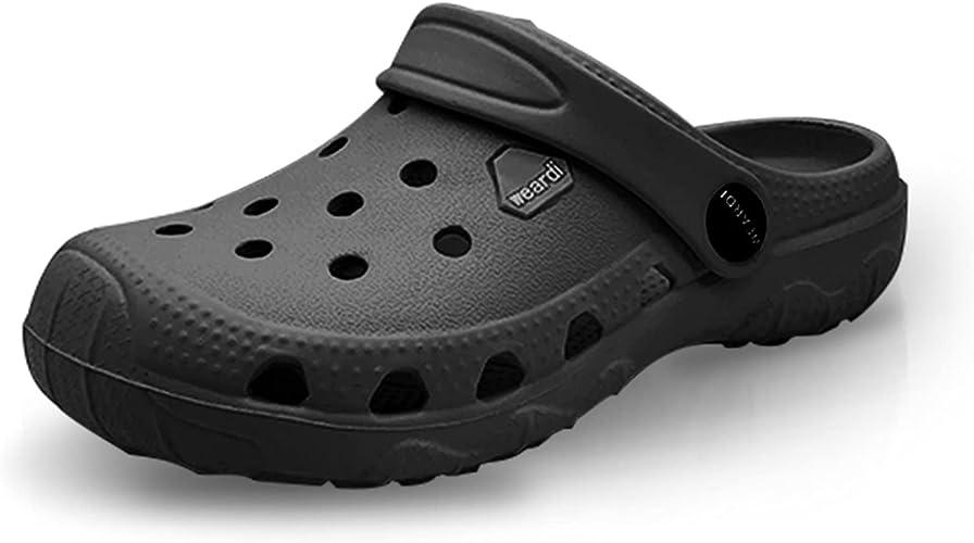 weardi Kids Garden Shoes Garden Slip On Water Shoes for Boys and Girls Sandals Clogs Beach Slipper