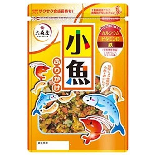 大森屋 小魚ふりかけ 45g×10袋入×(2ケース)