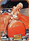 KODY HYDE Metall Poster - Jayne Mansfielld for Lincoln -