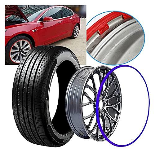 YC-Q5W0 La protección contra ruedas es adecuada para la decoración de protección de la llanta de todos los modelos, anillo de protección contra ruedas, llanta, caja de protección de neumáticos, anillo