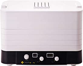 Máquina de conservación de alimentos para el hogar Deshidratador de frutas digital, tipo de perilla eléctrica, temperatura constante, 6 capas, bandeja, hogar, 500 vatios, secador de alimentos