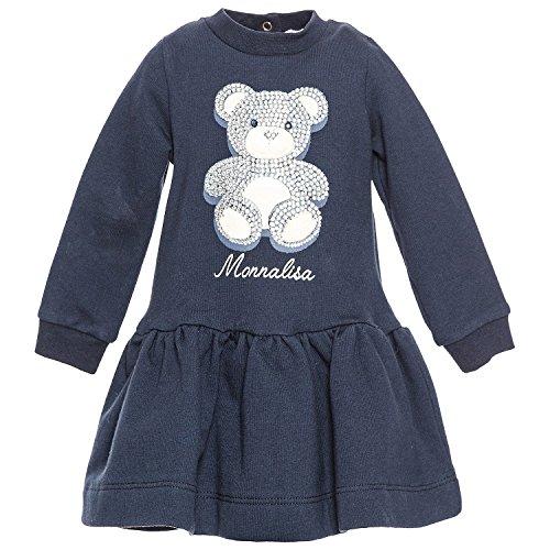 MONNALISA BEBE' Mädchen Kleid blau blau