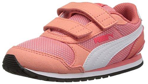PUMA Baby Mädchen ST Runner NL Kids Turnschuh, Shell Pink Weiß, 25 EU