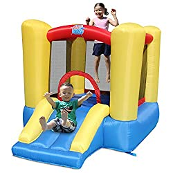 ACTION AIR Inflatable Bounce House With Blower For Indoor/Outdoor