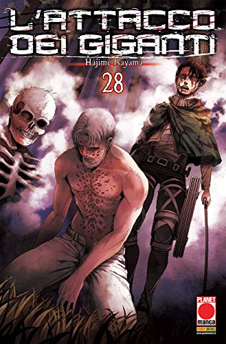 #MYCOMICS L'Attacco dei Giganti N° 28 - Planet Manga – Panini Comics – Italiano