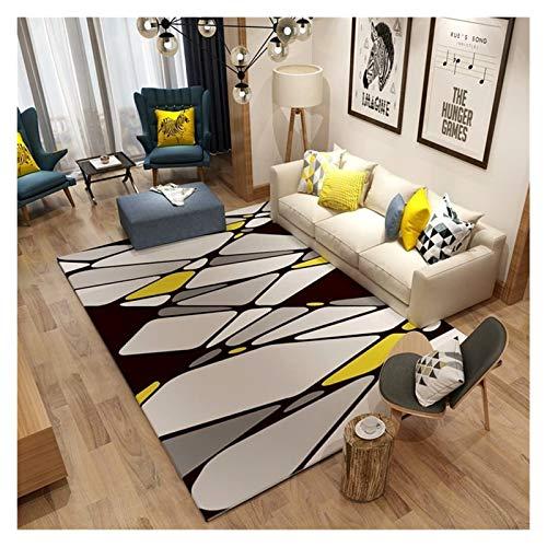 Tappeto super morbido e antiscivolo, alla moda, per soggiorno, divano, tavolino da caffè, per casa, letto, comodini per bambini, morbido e confortevole, antiscivolo, lavabile (colore: 140 x 200 cm)