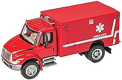 entrega rápida Walthers SceneMaster International 4300 EMS Ambulance, Ambulance, Ambulance, rojo by Walthers SceneMaster  ventas en linea
