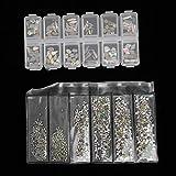 Redxiao Diseño único, bolígrafo para uñas, Exquisito y Hermoso, fácil de Usar, cómodo Toque de Diamantes de imitación para decoración de uñas, para Tienda de(4-Piece Set)
