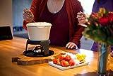 Kitchen Craft Emailliertes Fondue-Set aus Gusseisen mit 6 Gabeln, cremefarben - 9