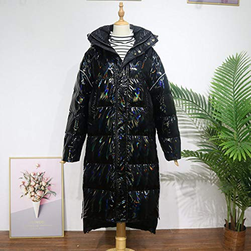 DPKDBN donsjack, donsjas vrouwen winter donsjack glanzende stof opstaande kraag vrouwelijke parka kort losse jas outwear