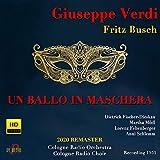 Un ballo in maschera, Act II (Sung in German): Teco io sto
