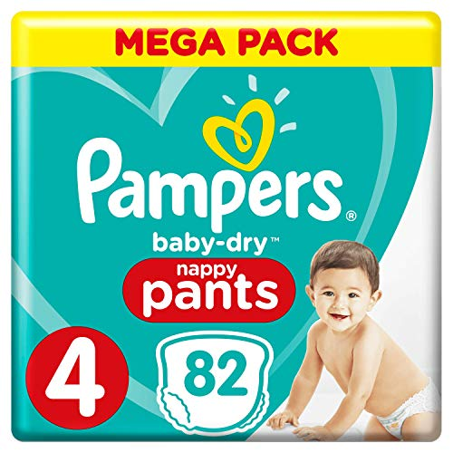 Pampers 81666880 Baby-Dry Pants windelhose, weiß