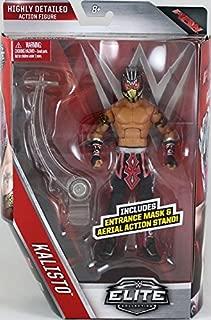 WWE KALISTO Elite 42 Mattel Toy Wrestling Action Figure