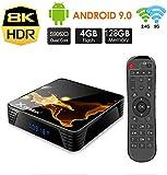 TV Box B1 MAX, 4G RAM 32/64/128GB, CPU H616 64-bit, Wi-FI 2.4G/5G 100M LAN, USB 3.0/HDMI2.1/SPDIF, h.265 8K Smart TV Box Android (4G+128G)