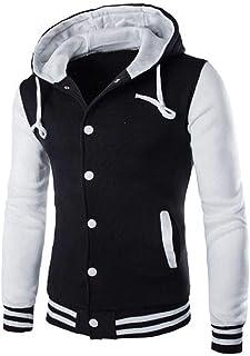 0901b25ba8 VEZAD Print Coat Men Sweater Winter Slim Hoodie Warm Hooded Jacket Outwear