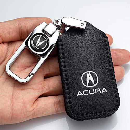 Car Key fob Cover Key case for Acura NSX RDX CDX MDX RLX TLX TLX-L Smart Remote Premium Key fob Holder